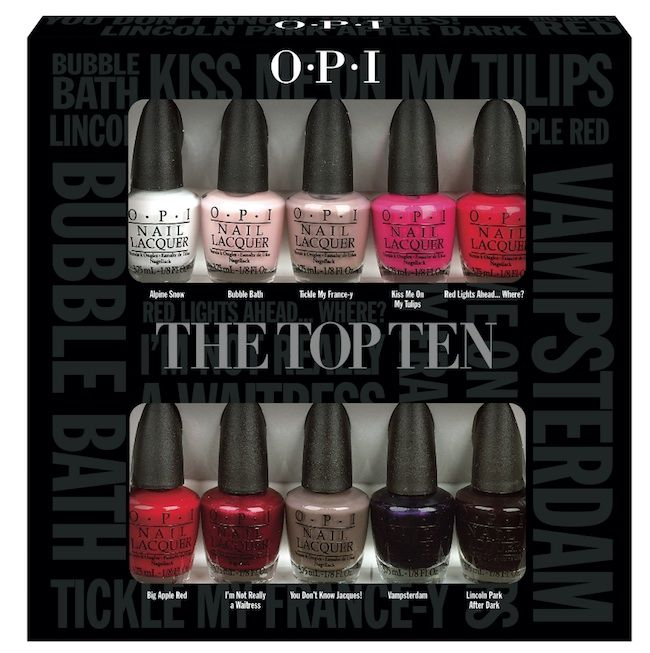 OPI The Top Ten | BEA-U-TI-FULLL!!!!!!! | Pinterest | OPI ...