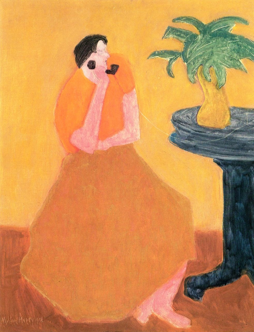 Party Line Milton Avery 1958 Art Painting Artwork