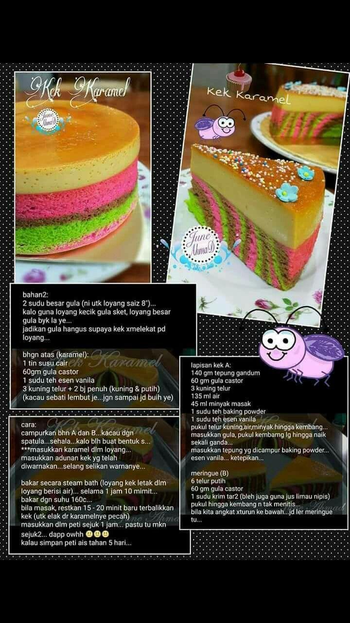 Cake pelangi Makanan, Makanan dan minuman, Resep