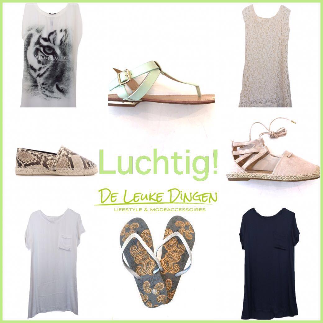 HELLO YOU...Check this out!  www.deleukedingen.nl #hemdjes #topjes #tunieken #jurkjes #slippers #espadrilles