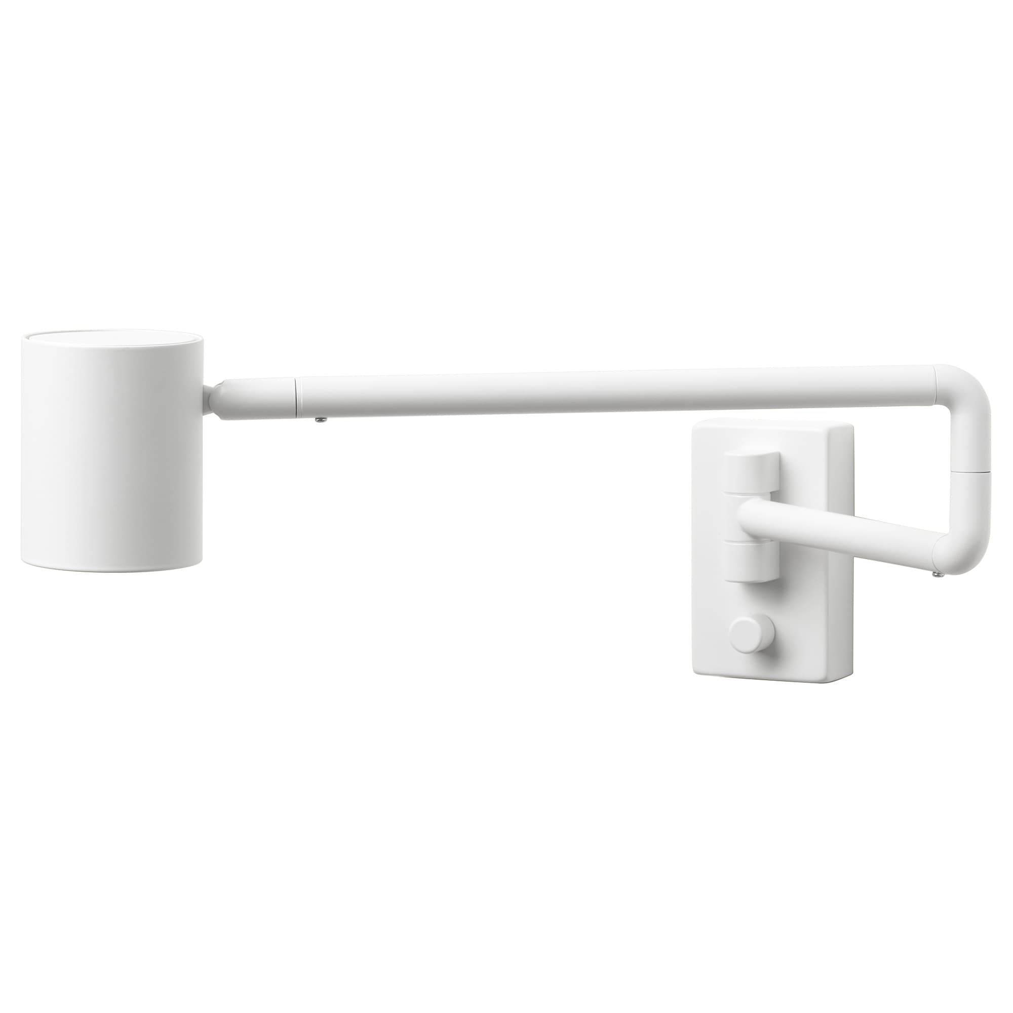 NYMÅNE Lampada parete girev instal fissa IKEA Lampada