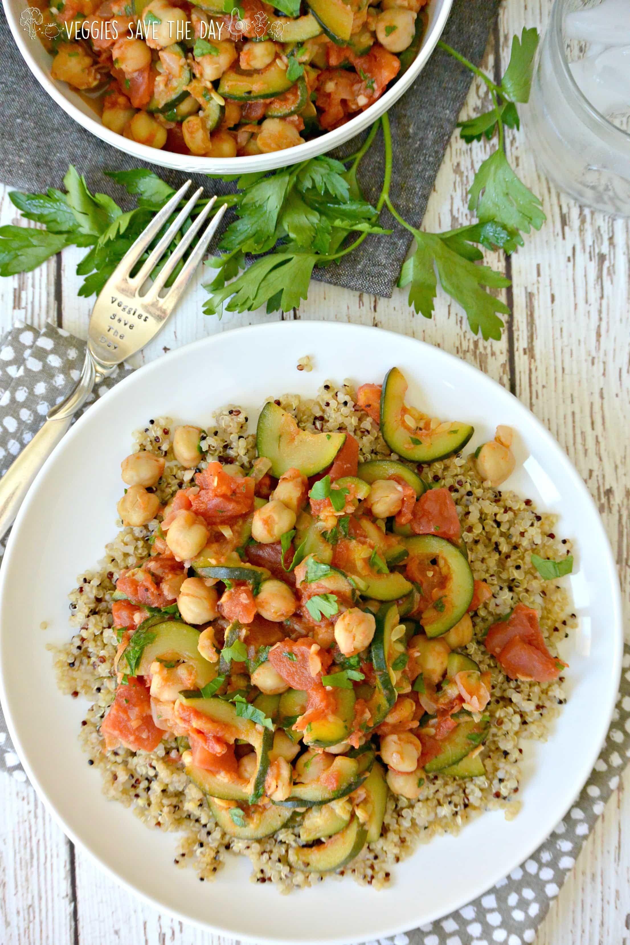 Zucchini Chickpea Stew