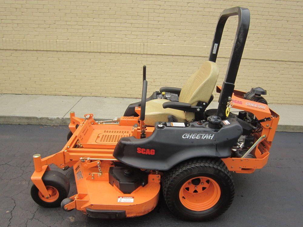 2014 Scag Cheetah 61 Commercial Zero Turn Mower Z Turn Lawn Mower Susp Seat Lawn Mower Commercial Lawn Mowers Mower
