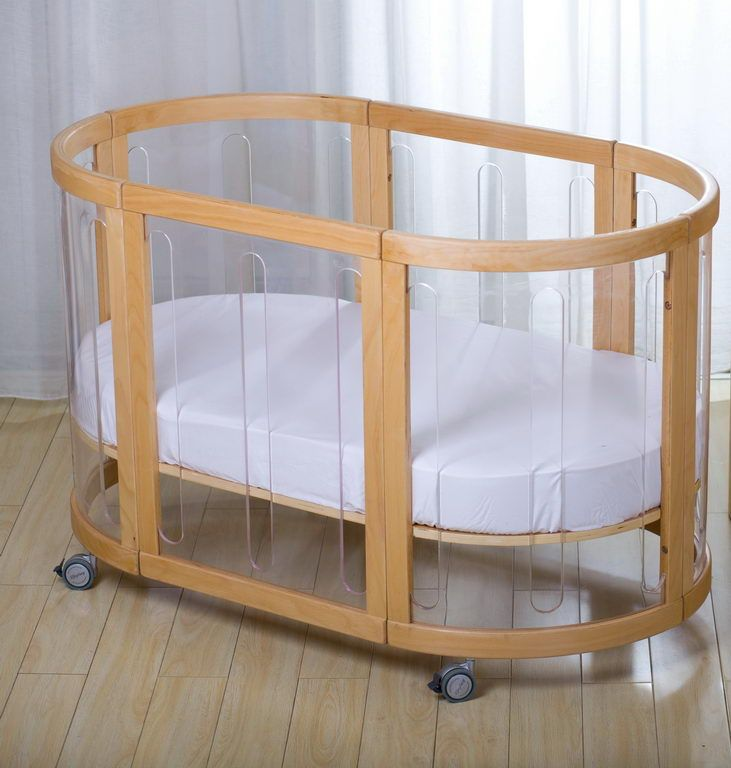 Kaylula Sova Clear 5 in 1 Cot | Cute baby gear | Pinterest