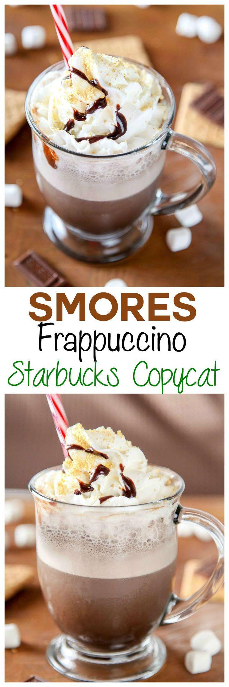 Copycat Starbucks Smores Frappuchino Save yourself a