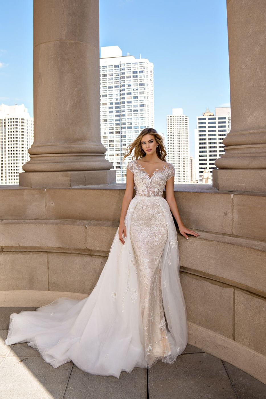 Wedding Dress Piter Martines P M 026 For Sale At Ny City Bride Wedding Dresses Wedding Dress Store Wedding Gowns Mermaid [ 1400 x 934 Pixel ]