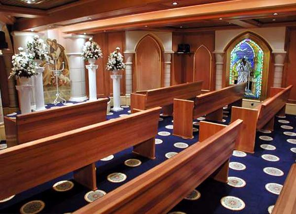Carnival Pride Chapel - this is the chapel we were married in! - 2006
