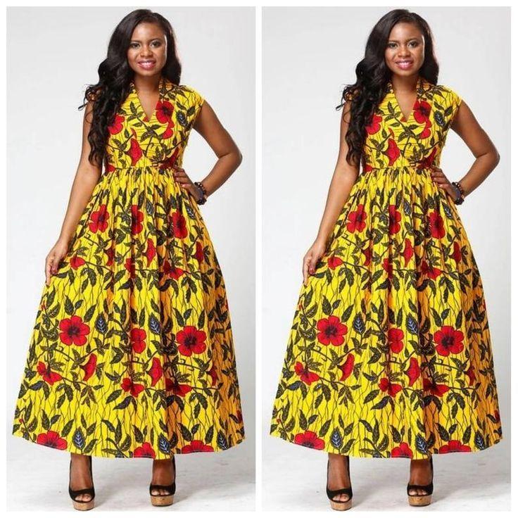 Yellow African Dress Dresses