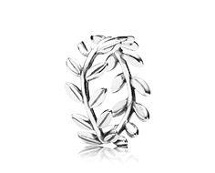 Pandora Leaves silver ring--$55