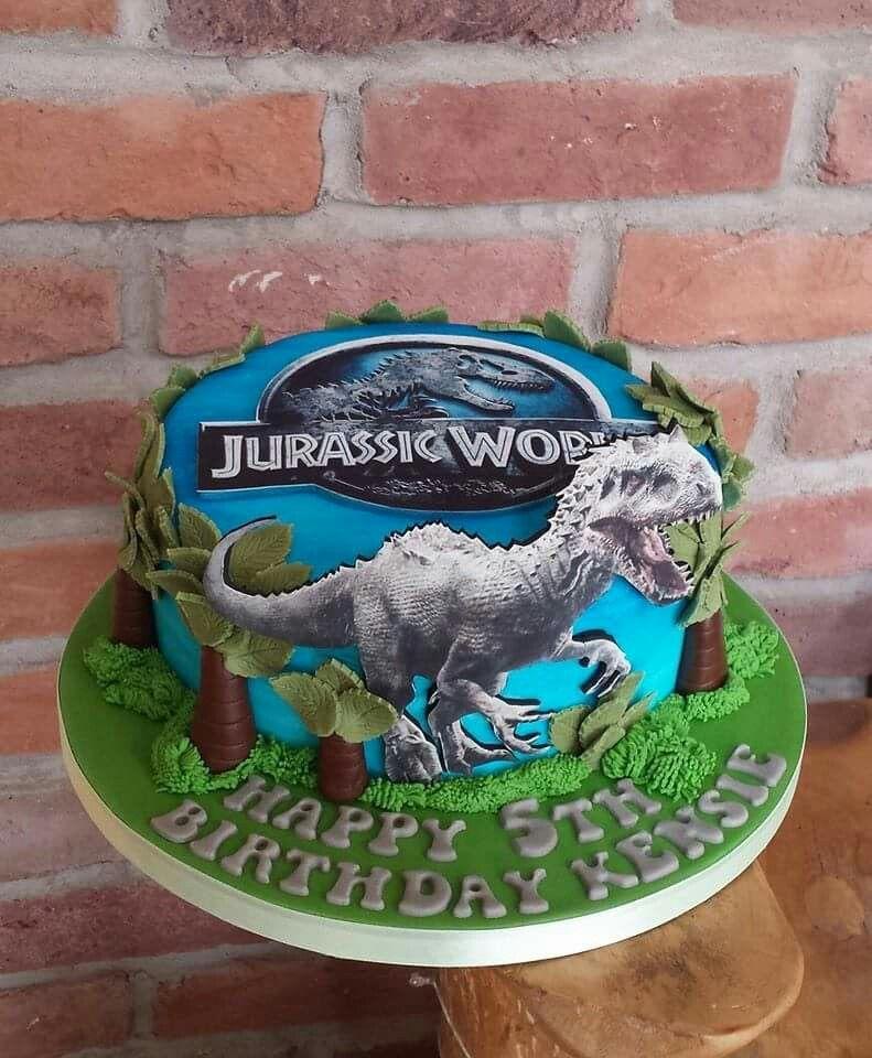 Jurassic World Dinosaur Cake ☺ Logans Cakes In 2019