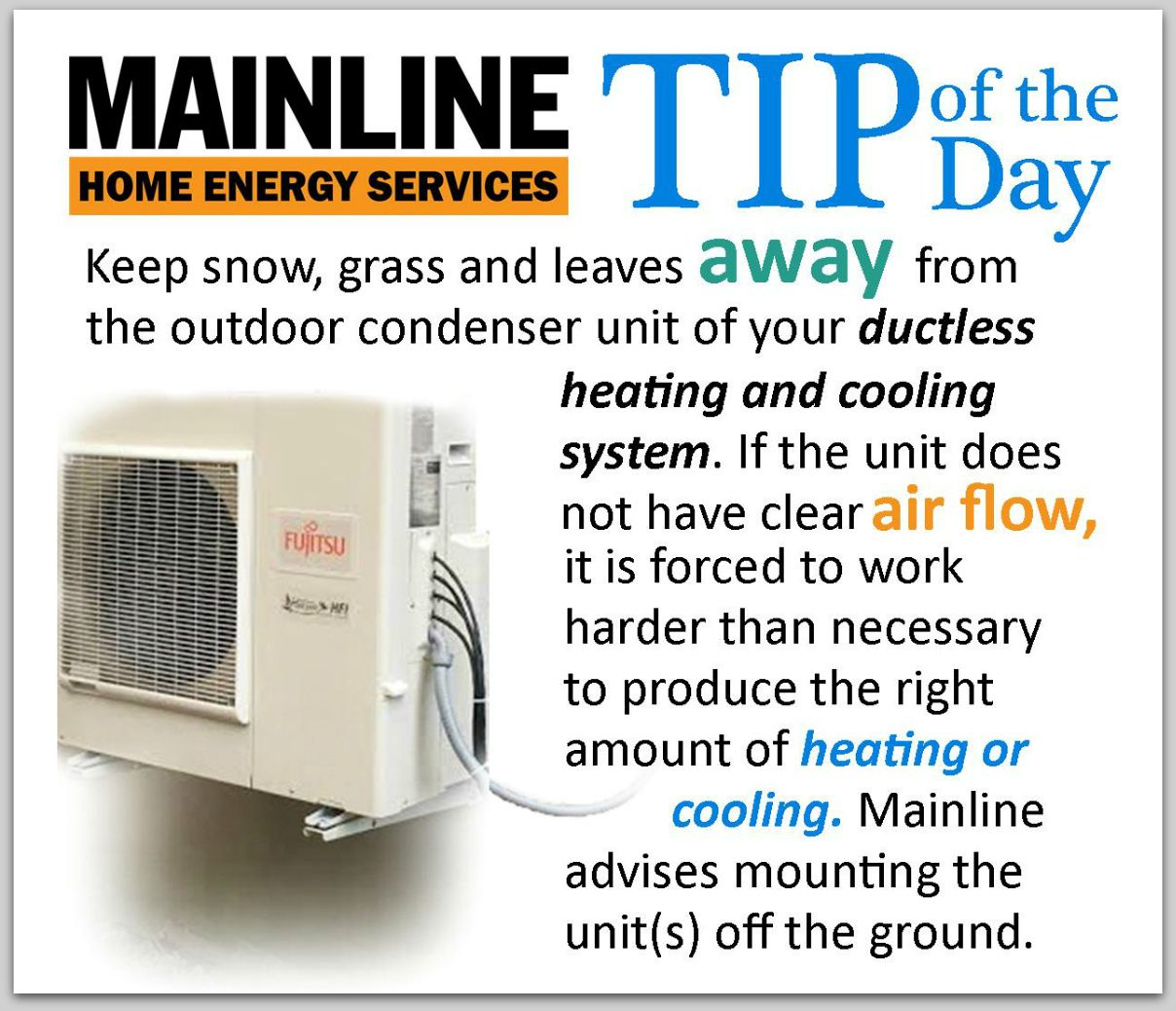 Mainline Ductless Ductless Heat Pump Ductless Heating And Cooling