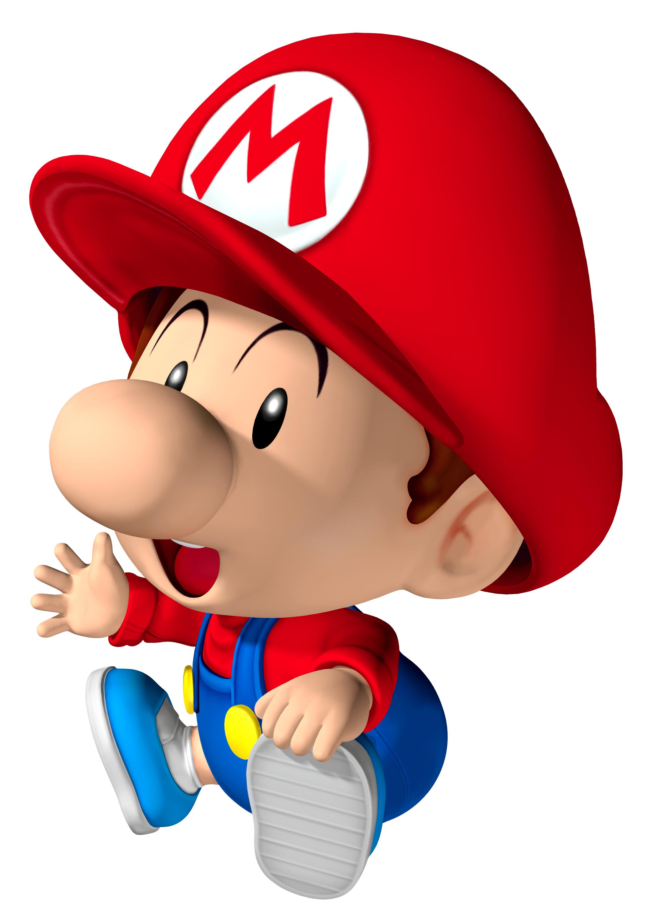 Mario Baby | Personajes de Mario Bros Baby | Pinterest
