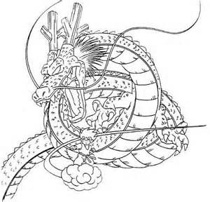 Printable Coloring Pages Dragon Ball Z 3 Dragon Coloring