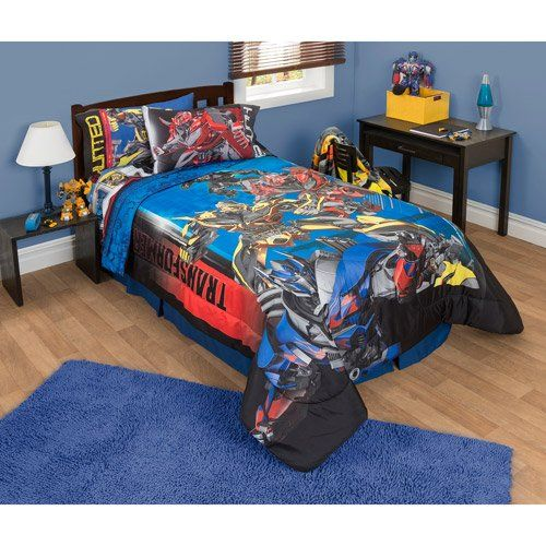 transformers 4 battle 5pc comforter and sheet set bedding collection optimus prime transformers