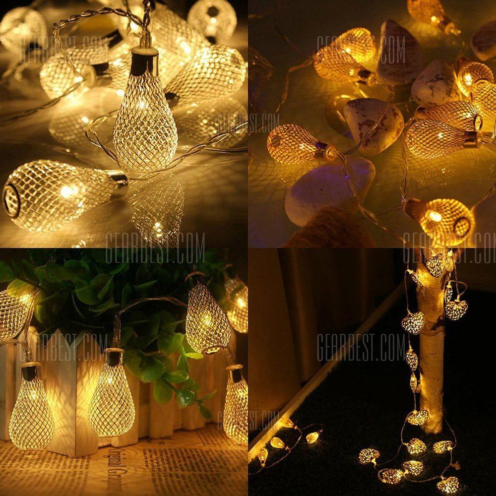 Decorative led string light for camping christmas home decor
