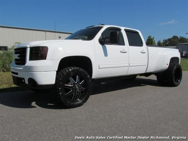 2008 Gmc Sierra 3500 Hd Slt 4x4 Crew Cab Long Bed Dually For Sale