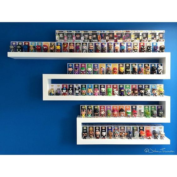 Image Result For Collectible Toy In Box Open Shelving Funko Display Ideas Funko Pop Display Funko Pop Shelves