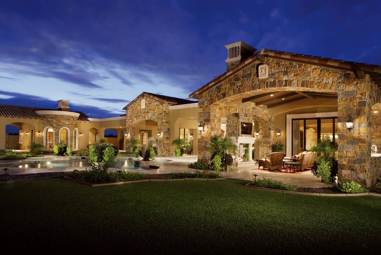North Scottsdale Estate with Mountain Views Custom homes
