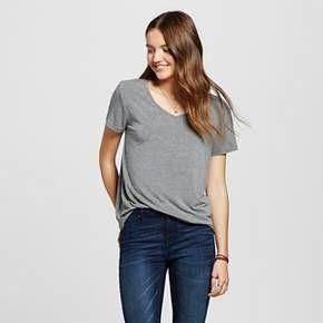 a32e4546 $8 Mossimo Target Mossimo Supply Co, V Neck Tee, Capsule Wardrobe, Short  Sleeves