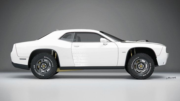 The Untamed A T Is The Dodge Challenger Rally Car America Deserves