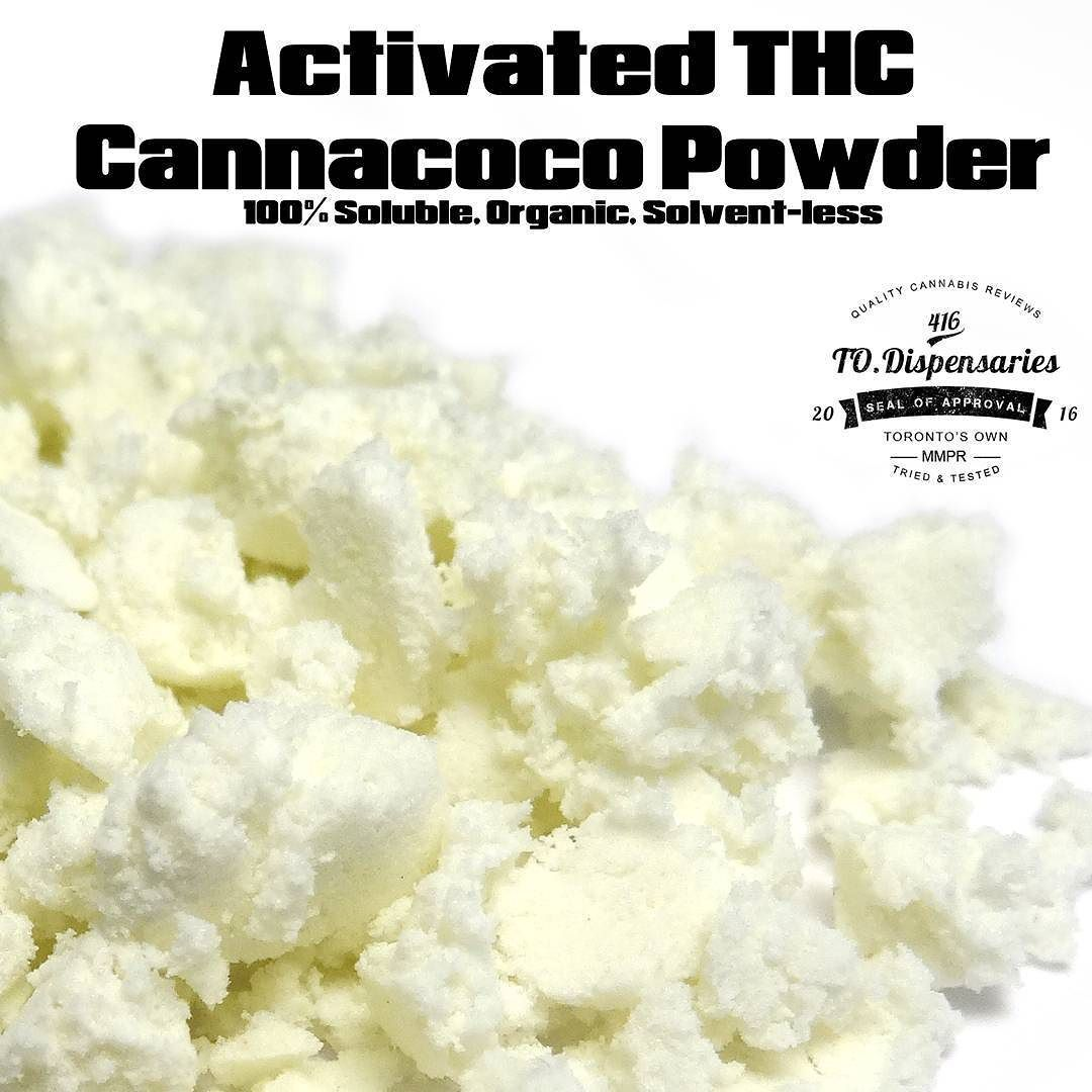 The future is here. Activated THC Cannacoco powder from @HighConfections. A completely soluble organic and solvent free THC powder that you can mix into any food or drink. I'm always amazed at what the scientist and chef at HC are cooking up and this one is definitely a game changer. Stay tuned for the review.  #toronto420 #topshelflife #cannabiscommunity #420review #dabs #dab #toronto #torontodispensary #todispensary #todispensaries #mmpr #HighConfectionsTO #OFWK  #tdot #cannabis #mmar…