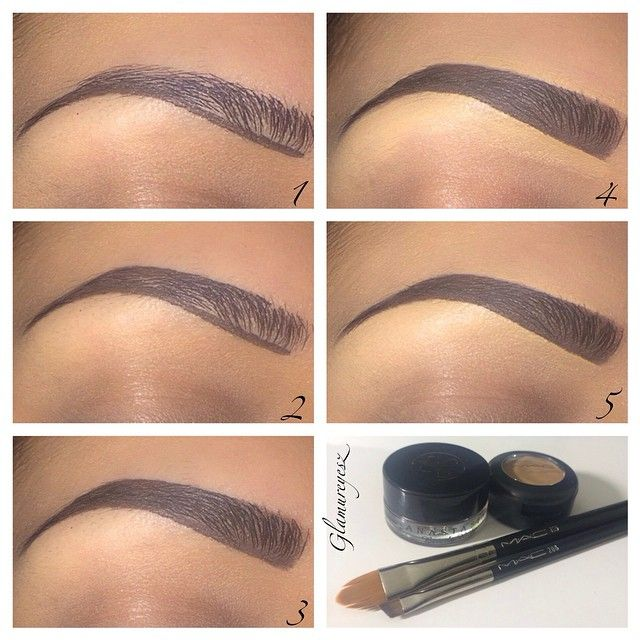 how to properly draw on eyebrows
