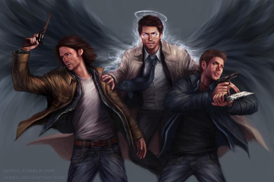 Team Free Will By Jasric On Deviantart In 2020 Supernatural Fans Supernatural Art Supernatural