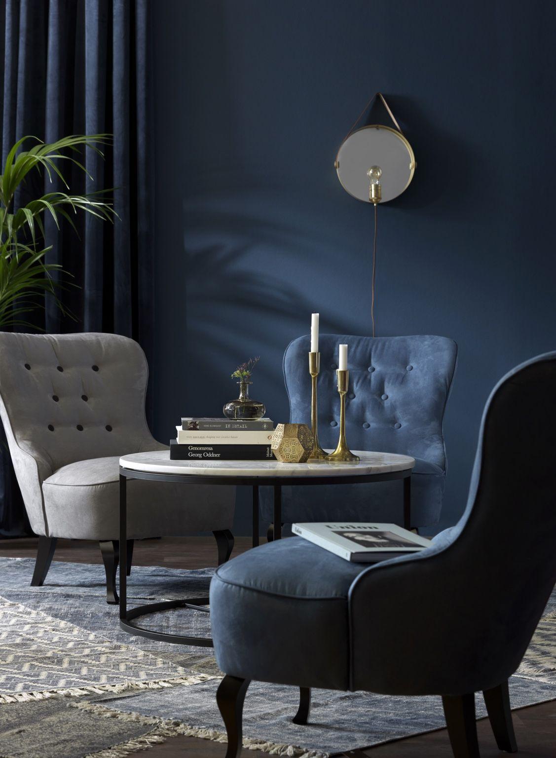 Elegant, skandinaviskt och aningens retro. ljusblå byggbar soffa ...