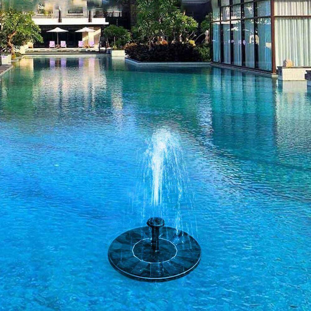 Solar Fountain Pump Free Standing 1.4W Bird Bath Fountain