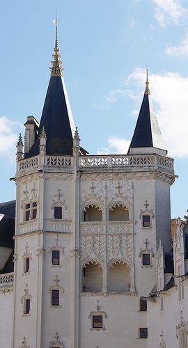 Château des ducs de Bretagne. Nantes. Pays-de-la-Loire