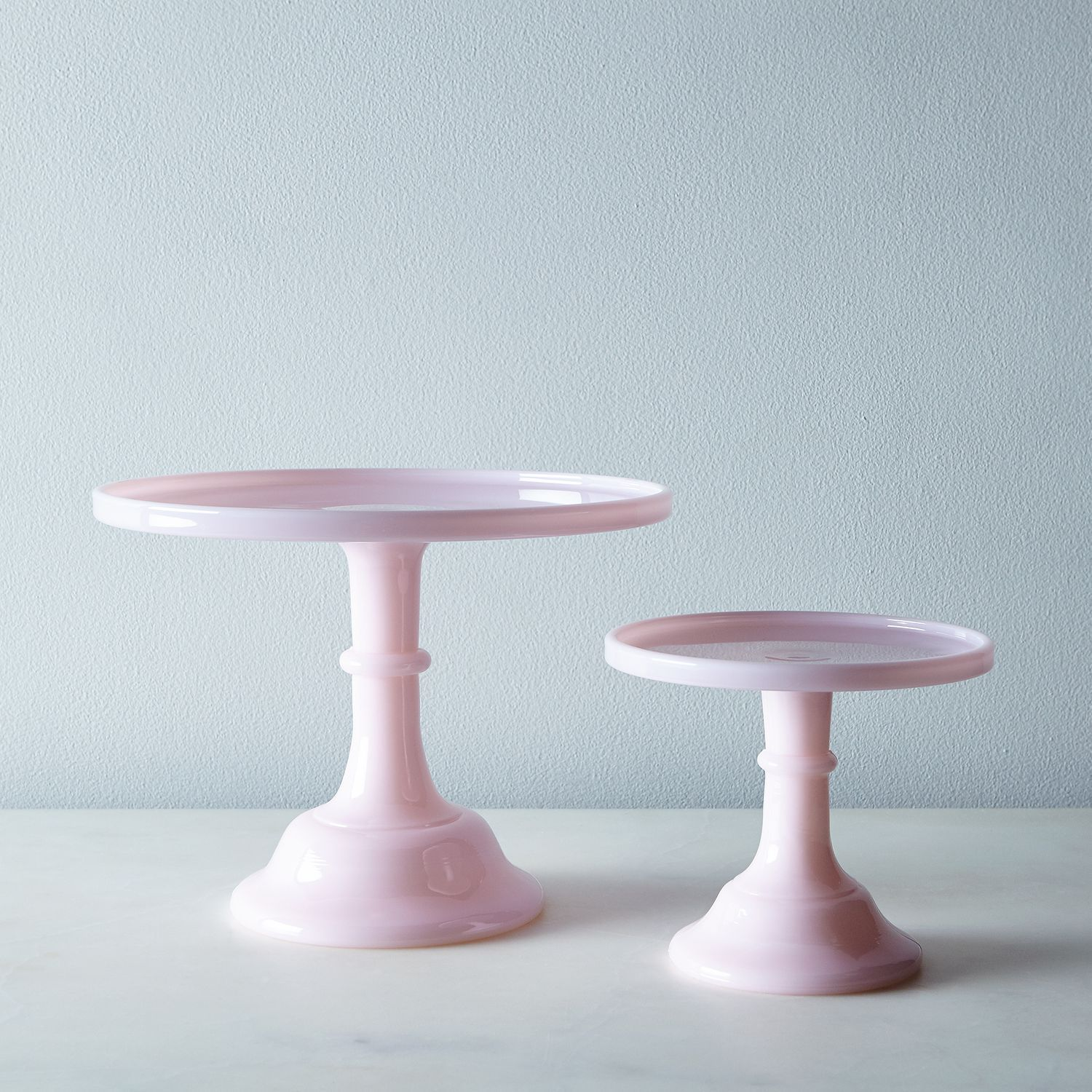 Pink Glass Cake Stand | Glass, Tabletop and Kitchens