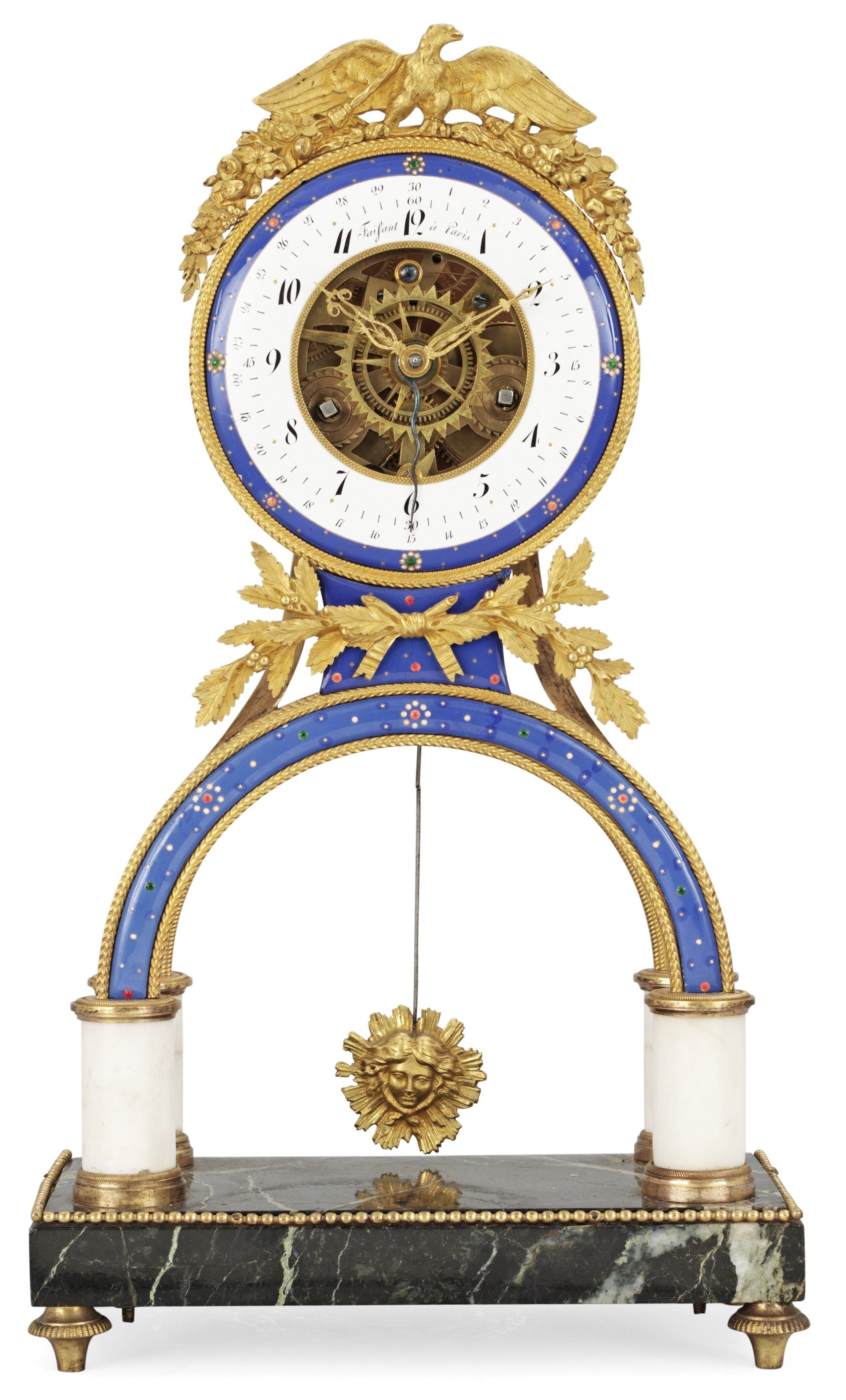 A FRENCH MANTEL CLOCK BY FAISANT, CIRCA 1800. | Tick Tock ...