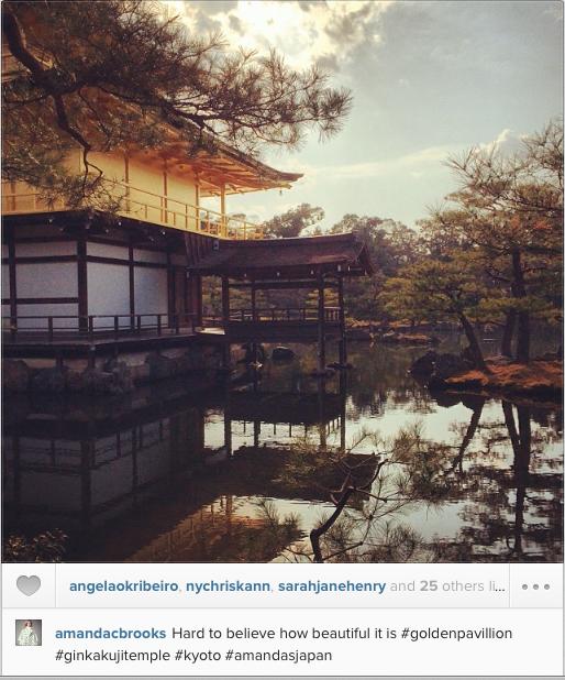 Instagrabs #amandacbrooks #ginkakujitemple #goldenpavillion #kyoto