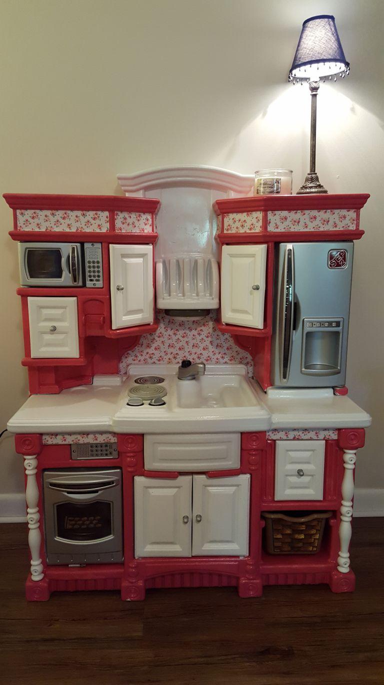 DIY Play Kitchen Remodel (plastic Step 2) Diy play