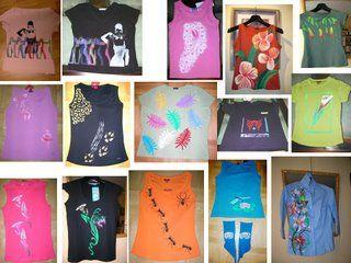 Plantillas Decorar Camisetas Con Pinturas Textiles