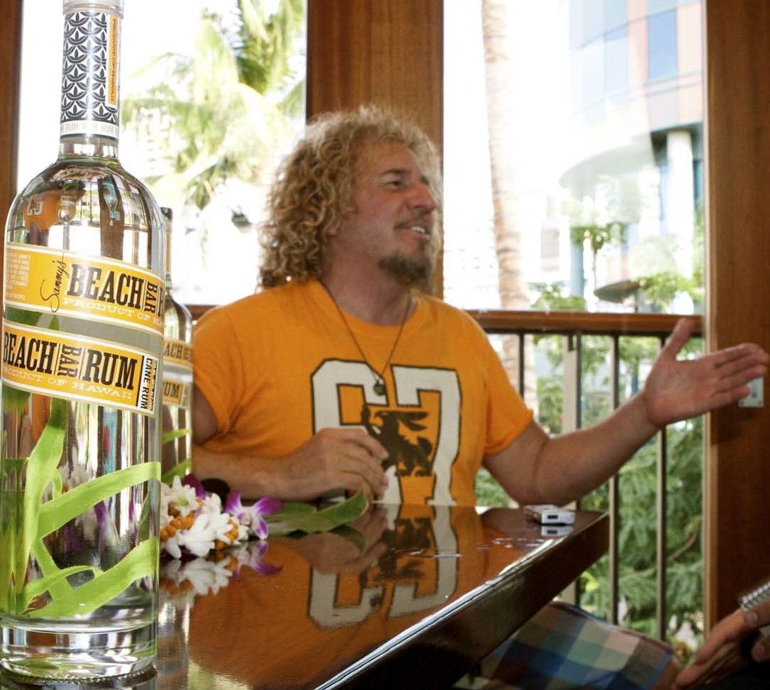 Rocker Sammy Hagar Launches Maui Made Rum In Waikiki Shares Mai Tai Recipe Sammy Hagar Rum Mai Tai Recipe