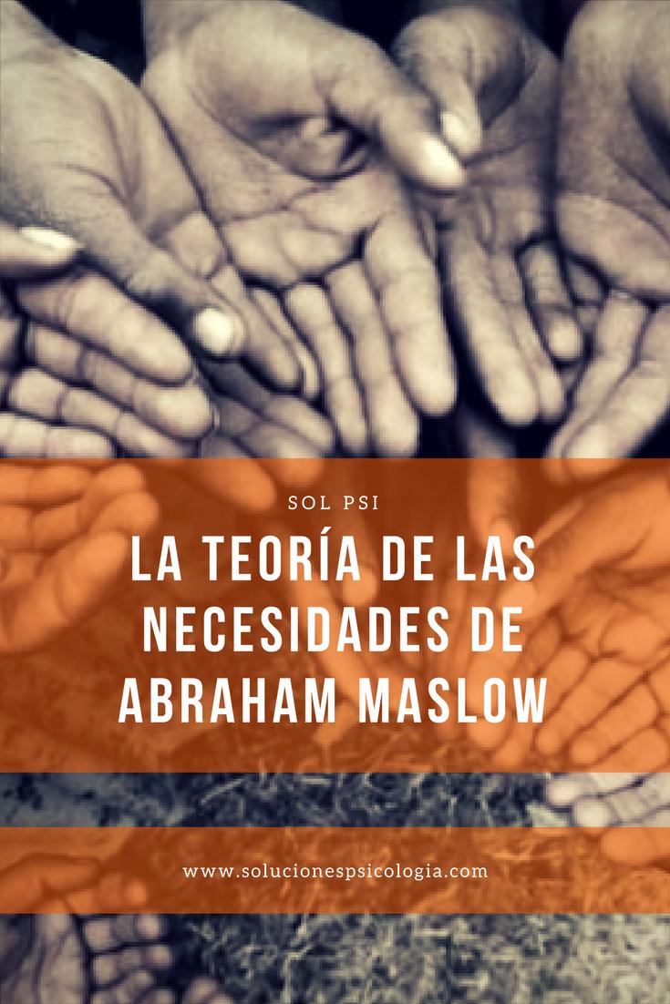 ¿Cuál es la teoría de las necesidades de Abraham Maslow? #psicologia #crecimientopersonal  https://www.solucionespsicologia.com/la-teoria-de-las-necesidades-de-maslow/?utm_campaign=crowdfire&utm_content=crowdfire&utm_medium=social&utm_source=pinterest