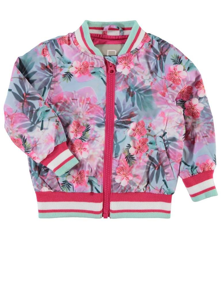 Kinderkleding Zomerjas.Name It Magdaline Mini Jacket Name It Zomerjas Very Cool Flower