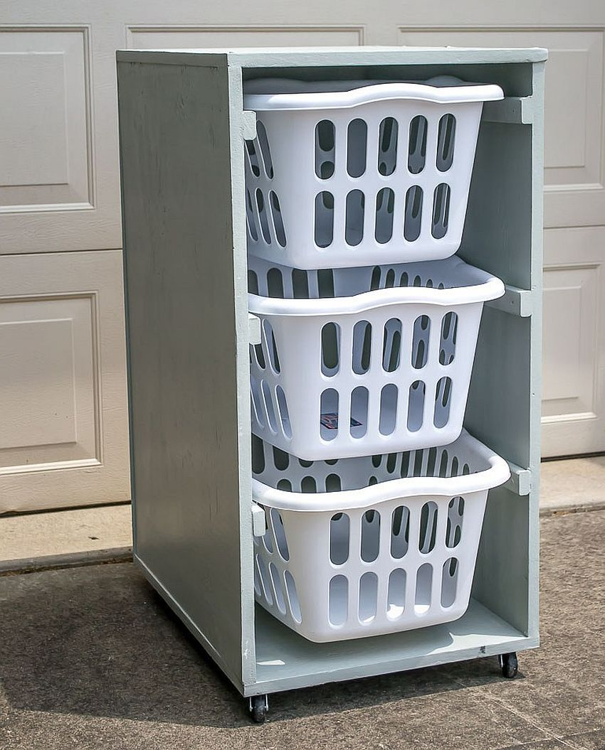 Laundry Room Carts 12 Mobile And Space Savvy Ways To Organize