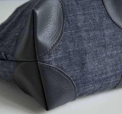 Coudre des coins de sacs pour renforcer un ouvrage