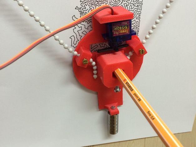 Pin by Michael Una on drawbot in 2019 | Arduino, Diy tech, Cnc