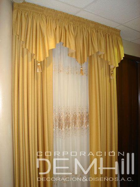 Resultado de imagen para modelos de cenefas para cortinas cortinas