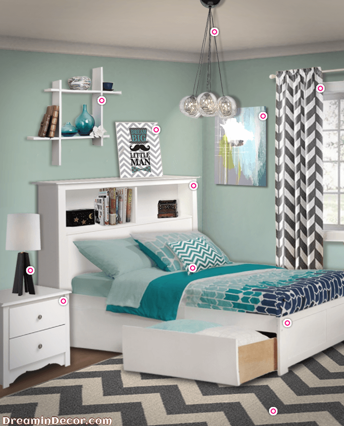 Lovely 3 Modern Bedroom Ideas For Chevron Room Decor