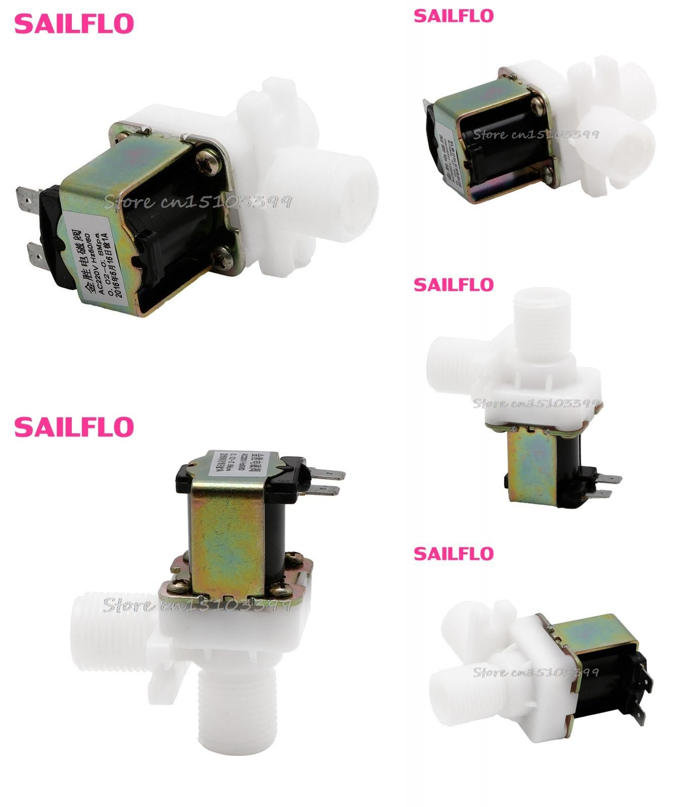 Visit To Buy 220v Ac Electric Solenoid Valve Magnetic N C Water Air Inlet Flow Switch 1 2 G205m Best Quality Advertisement Electricity Inlet Valve