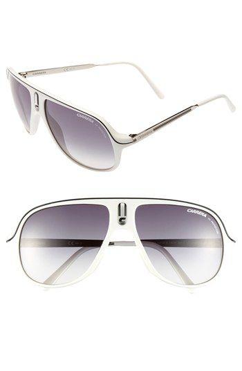 4b03da8a68e0d Carrera Eyewear  Safari  62mm Retro Inspired Aviator Sunglasses ...