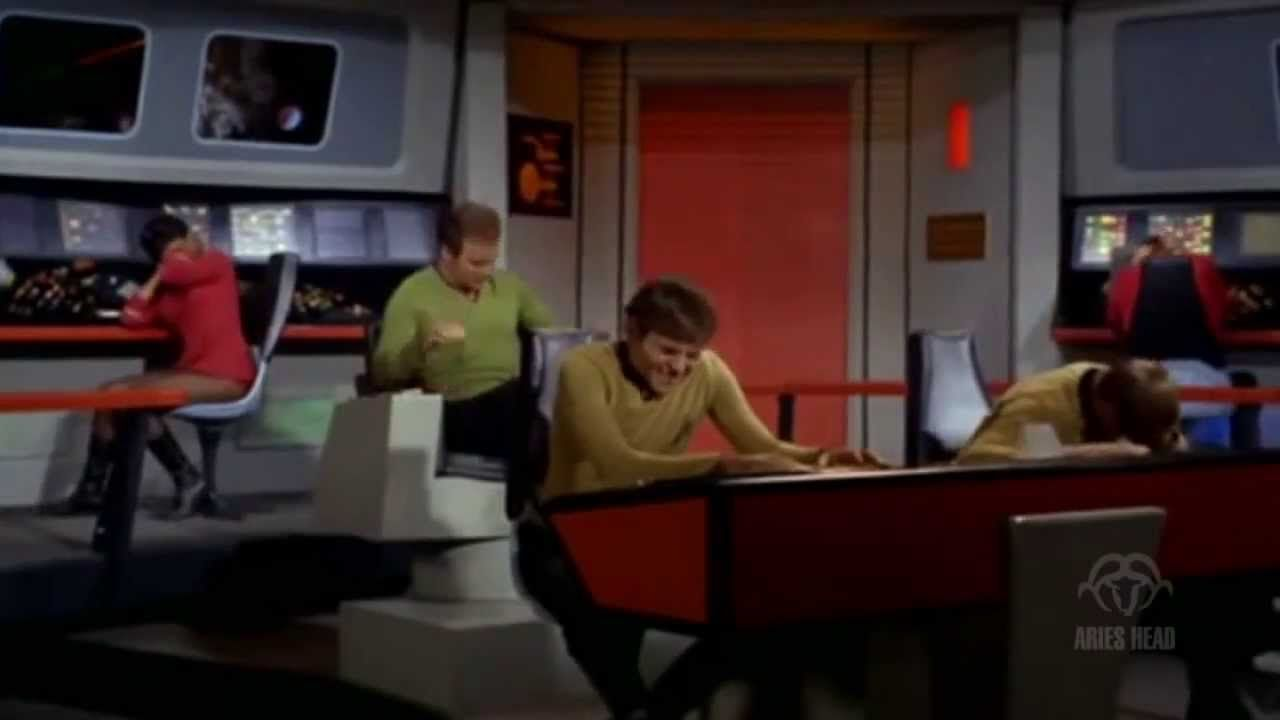 Funny Alert: Captain Kirk watches Miley Cyrus performance