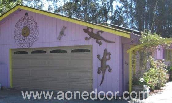 Roll Up Garage Door With Glass By A 1 Overhead Door