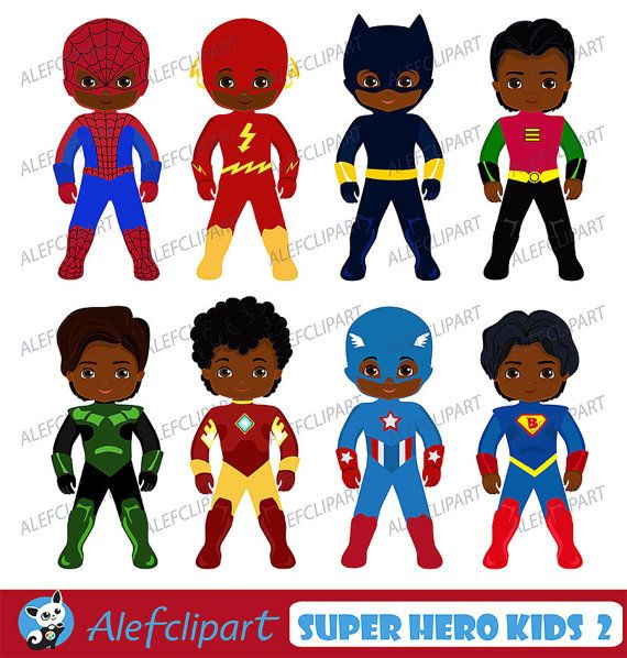 african american superhero clipart superhero clipart superhero kids rh pinterest co uk Superhero Clip Art Black and White Cute Superhero Clip Art