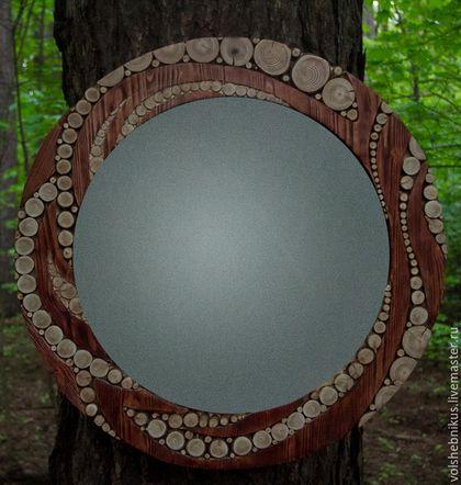 зеркала ручной работы зеркало алиса лес чудес михаил