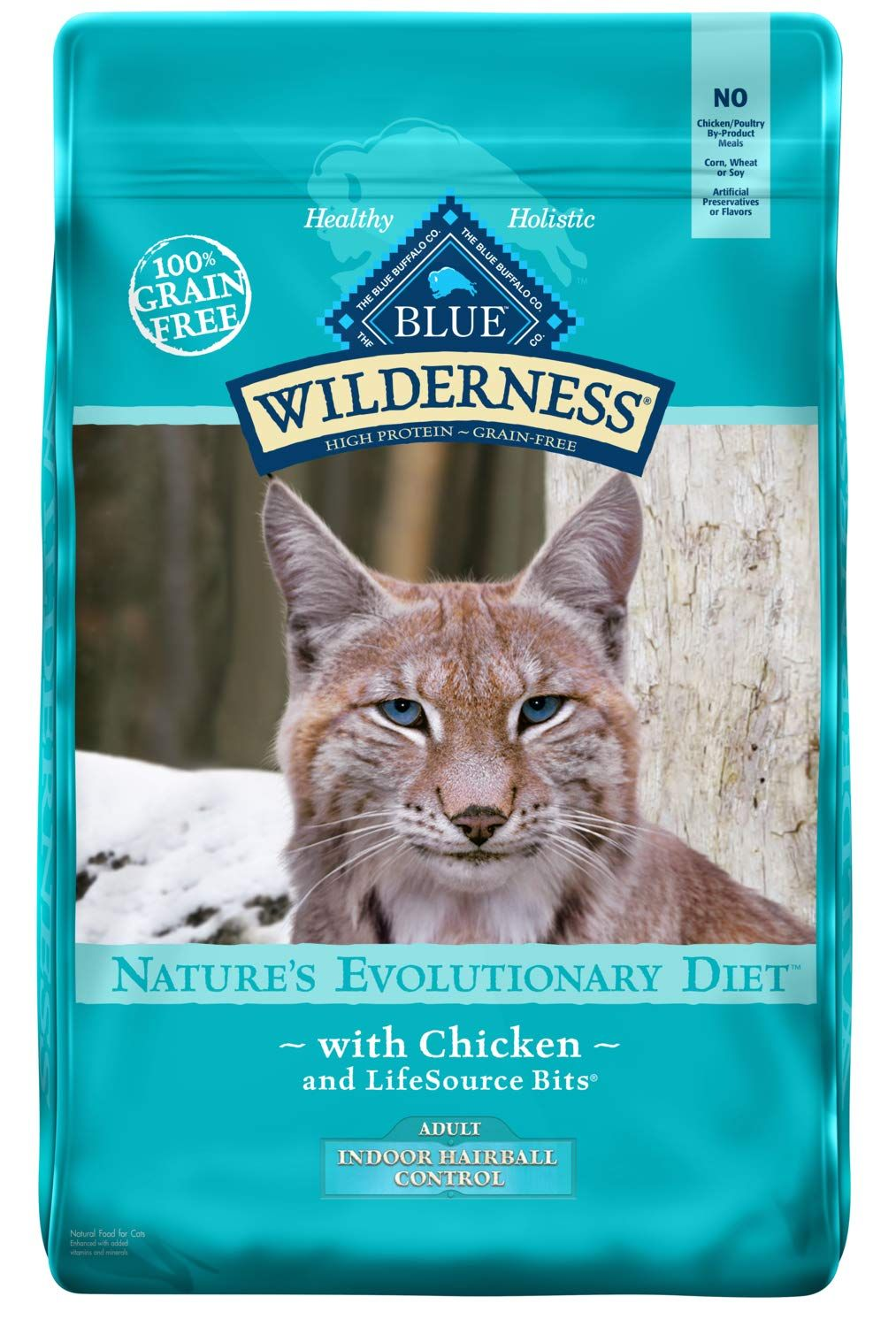Blue Buffalo Wilderness High Protein Grain Free Natural Adult Indoor Control Hairball Dry Cat Food Chicken 11 Lb Ad Free Ad Grain Chicken Recipes Dry Dry Cat Food Dog Food Recipes